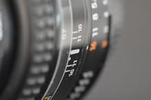 Detail Of Adjustable Camera Lens