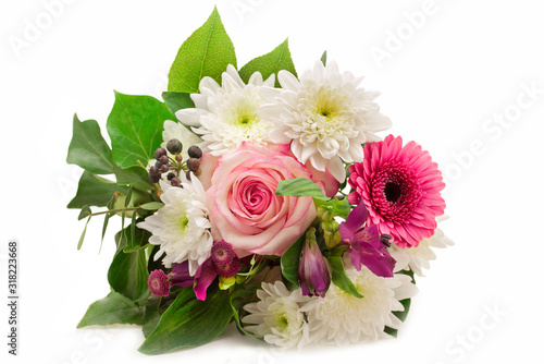 Photo Bouquet of flowers isolated