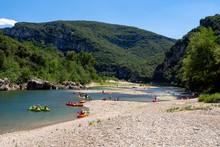 People Canoeing And  Kayaking ...