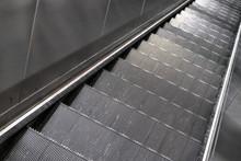 Looking Down Gray Steel Metal ...