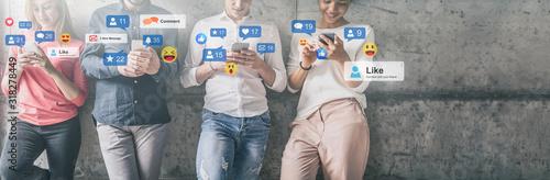 Social media concept. - 318278449