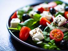 Fresh Greek Salad - Feta Chees...