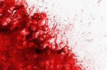 Schizzo Di Sangue Che Esplode
