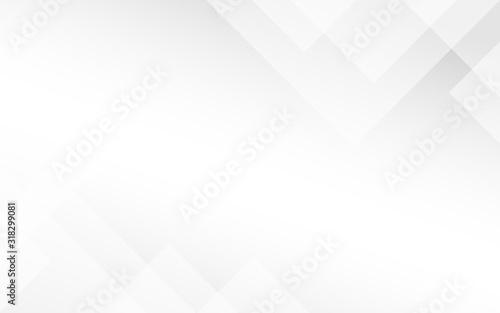 Obraz Abstract light gray minimal geometric subtle vector background illustration - fototapety do salonu