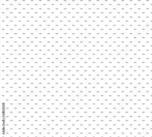 Vector Seamless sports wear Irregular Rounded Lines Halftone Transition Abstract Background Pattern white color Poster Mural XXL