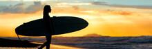 Surf Girl Sunset