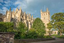 Exeter Cathedral, Devon. England. UK.