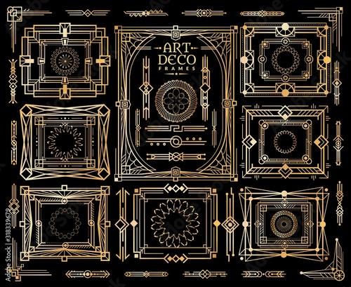 Photo Art deco set