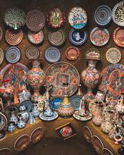 Ceramics In Bazaar