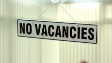No Vacancies Sign Turned Over ...