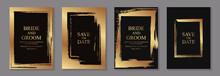 Set Of Modern Grunge Luxury We...