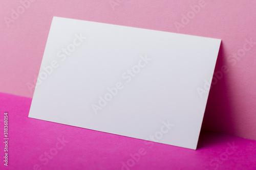 Fotografia, Obraz Business cards blank