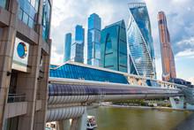 Moskva-city. Skyscrapers Of Gl...