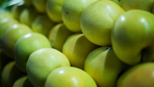 Full Frame Shot Of Granny Smith Apples