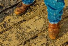 Work Boots & Mud