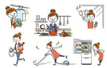 People Set: Housewife, Housewo...