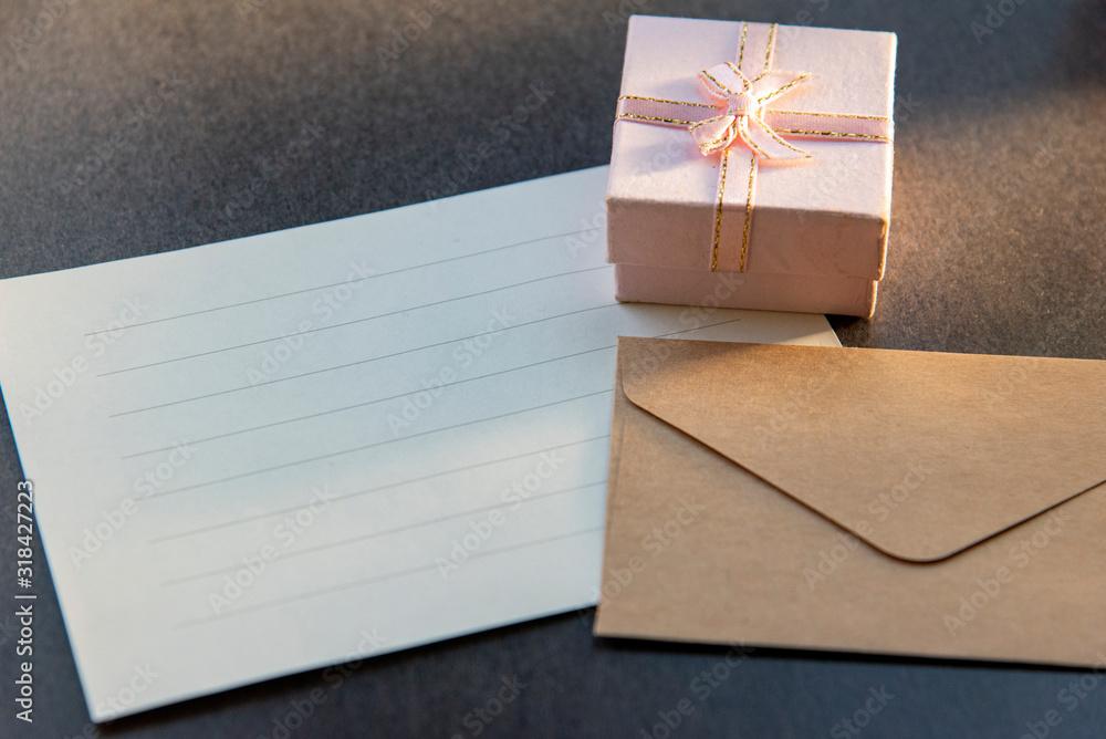 Fototapeta あなたに贈るおしゃれなレター