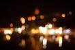 Defocused Lights Against At Night
