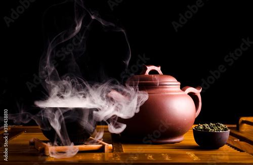 Cuadros en Lienzo Chinese tea ceremony