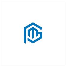MP Or PM Or PMG Letter Logo De...