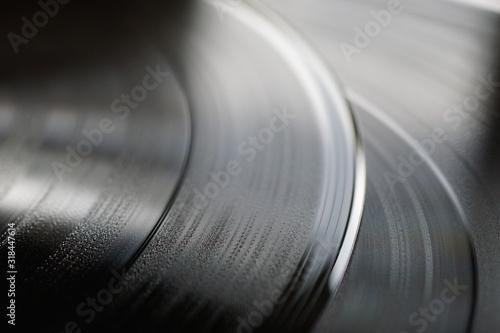 Full Frame Shot Of Record Disk - fototapety na wymiar