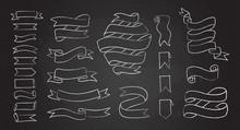 Chalk Line Hand Drawn Banner S...