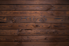 Planks Of Dark Old Wood Texture Background
