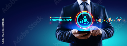Cuadros en Lienzo KPI key performance indicator increase optimisation business and industrial process