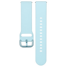 Light Blue Silicone Strap For ...
