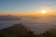 Sunrise in Thailand, Good view form north of Thailand.