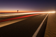 Asphalt Road Running Through T...