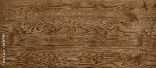 Fotografía clear panoramic dark wood texture