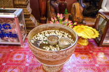 Buddhist Ceremonial Blessing Water