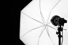 Studio Spotlight And Umbrella