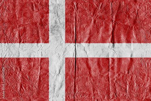 Full Frame Shot Of Danish Flag Tapéta, Fotótapéta