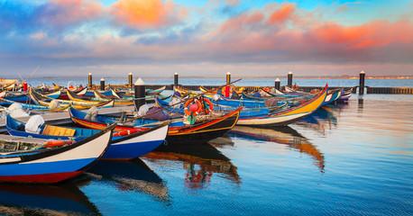 Fototapeta Morze Portugal, Boote