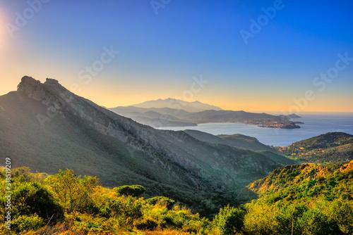 Cuadros en Lienzo Elba Island, Tuscany, Italy