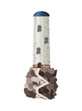 Vector Flat Lighthouse. Cartoo...