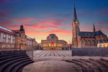 Chemnitz, Germany. Cityscape I...