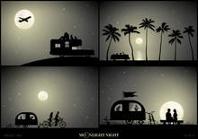 Set Of Vector Illustration Wit...