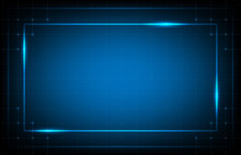 Abstract Background Of Blue Fr...