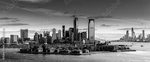 Foto Fine art black and white of NYC skyline