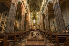 Interior Of St. Vitus Cathedra...