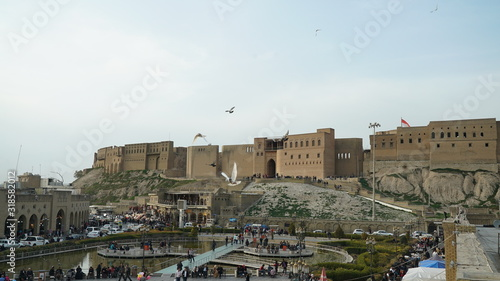 Photographie Erbil Citadel the oldest inhabitant city in the world the capital of Kurdistan R