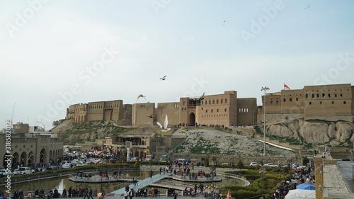 Fotografia Erbil Citadel the oldest inhabitant city in the world the capital of Kurdistan R