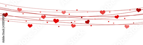 hearts-on-strings-background-for-valentine-s-day