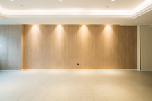 Modern Decor Style Lobby With Empty Floors And Walls