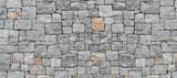 Fototapeta Kamienie - gray stone wall texture