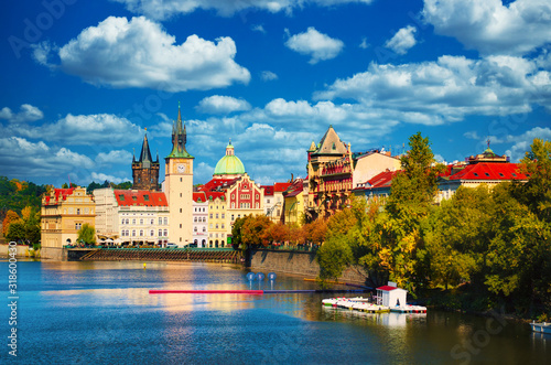 Obrazy Praga  widok-na-zamek-praski