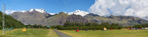 Fotografía Camping en bas de montagnes en Islande